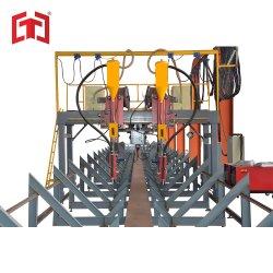갠트리 유형 강철 구조 H 빔 가공 용접 기계 라인