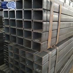 Tubo d'acciaio quadrato strutturale di ERW (50X50)
