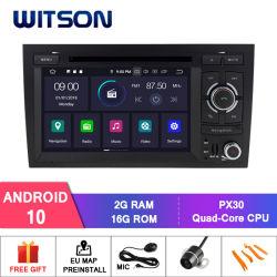 Auto-Video-Player des Witson Android-10 für Audi A4 2002-2008 Radio-GPS Multimedia