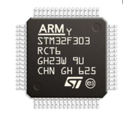 32 bit 72 MHz 256 kb (256K X 8) Microcontrollore IC Flash 64-LQFP (10X10) Stm32f303rct6