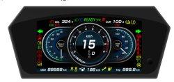 Instrument de tableau de bord de haute qualité combinaison mètre pour la voiture électrique/637