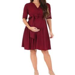 Umstandsmode Umhang Selbstbinden Taillenkleid Stillkleidung Schwangere Freizeitkleid
