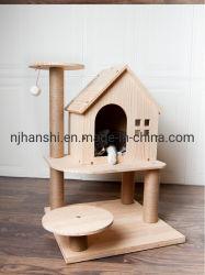 Gato de madeira de árvores para Cat