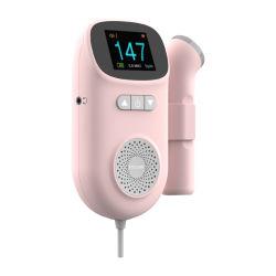 الجهاز الجنيني لعلاج القلب الجنيني دوبلر الأجنة فوق الصوتية جهاز الفتيلين المحمول للحامل
