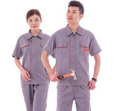 الملابس تضع العمل حماية بدلات العمل محل الملابس الموحدة المضادة الإستاتيكية مجموعة ملابس العمل القصيرة الميكانيكية Mechanic Multi-function Cotton Summer