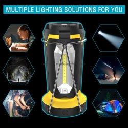 Farol exterior luces LED Linterna de camping linternas recargables USB Mini Linterna Linterna de emergencia de la luz de la noche de la luz de la tienda para acampar Senderismo