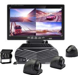 4CH 3G 4G WiFi를 갖춘 모바일 DVR GPS 차량 관리 버스, 세미 트럭, 트레일러, 트럭, 자동차용 DVR 상용 차량 DVR