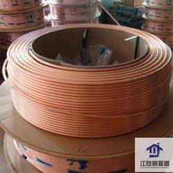 Niveau de la bobine de cuivre enroulé (ordinaire) le tube en cuivre de la réfrigération de la plomberie
