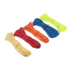 円形の繊維によってコア回される編むポリプロピレンロープ