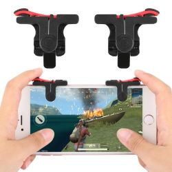 Los juegos del teléfono móvil Activar botón Pubg Gamepad asa para L1r1 controlador de juego de puntería en los teclados Grip para iPhone Android Teléfono