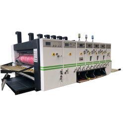 인쇄하는 새로운 디자인 고속 쌓아올리는 기계 기계를 가진 Die-Cutter를 홈을 파기