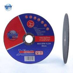 "6""Rueda de corte de resina fina la molienda de hoja de disco de metal para la amoladora angular China discoteca de Corte"