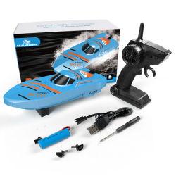 Motor Twin Control remoto RC Racing divertido barco estanque de la velocidad de los niños juguetes de plástico
