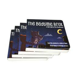 デザインボードの本の印刷のEcoのカスタム高品質の子供のハードカバーの物語の本の印刷サービス