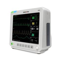 مراقبة المرضى الأساسية SinoHERO S12 المحمولة CE ISO معتمد من Shenzhen سعر مراقب المريض