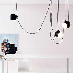 室内アルミニウム製吊り下げ型 LED 照明はモダンなスタイル