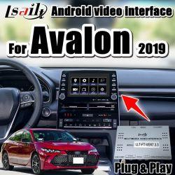 Lsailt Toyota Avalon 초기 모형 다중 매체 carplay 영상 공용영역 지원을%s 인조 인간 차 gps 항법