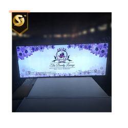제조업체 사용자 지정 LED 광고 조명 박스 표지