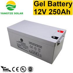 Yangtze-verwendete heiße Verkaufs-Gel-Batterie 12V 250ah für SolarStromnetz