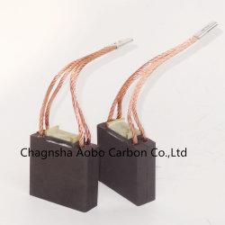 فرشاة الكربون الصينية القياسية لمحرك الصناعة/محرك التيار المتردد/محرك التيار المستمر فرشاة كربونية جرافيت