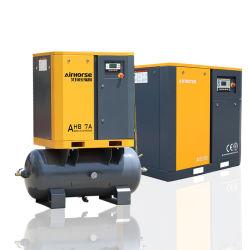 ضاغط الهواء اللولبي بقدرة 380 فولت بتردد 50 هرتز أو 60 هرتز ثلاثي الأطوار 22 كيلو واط-250 كيلو واط بالنسبة لماكينة قالب التصريف