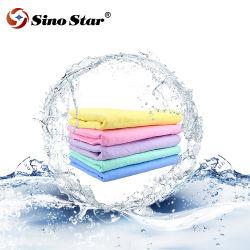 Ss-Wt19 China PVA camurça lavagem automática de produtos de cuidados de limpeza de couro e peles acamurçados carro fábrica de toalhas