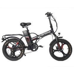 Китай оптовая OEM-поставщика шин жира электрический складной велосипед литий питание E складной велосипед