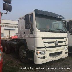 Sinotrukは販売のトラクターのトラックのためにHOWO 6X4のトレーラートラックを使用した