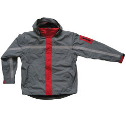 Vestiti esterni del poliestere antivento Rainproof