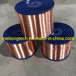 L'ISO a approuvé la fabrication de fils d'aluminium plaqué de cuivre