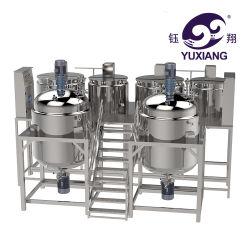 Homogeneizador creme batedeira Vaselina depósito de mistura máquina de mistura Cosméticos Loção Misturador de Vácuo