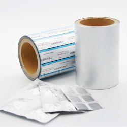 Produtos farmacêuticos do rolo de impressão de folha de alumínio películas de película PE