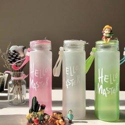 Flaschenglas des Mineralwasser-450ml mit Plastikschutzkappen-/Kappen-Förderung-Geschenk 2020
