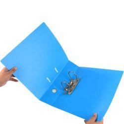 사무용품 A4 크기 PP 플라스틱 파일 1 구멍 문서를 위한 제 2 반지 바인더