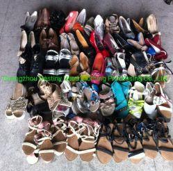 Guangzhou fornitore seconda mano Scarpe Madies Mixed usato Scarpe in Balle in vendita