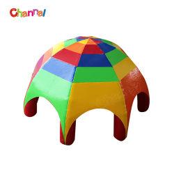 Rainbow Color Großes, aufblasbares Spinnenzelt für Werbung