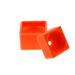 OEMの製造業者は食品等級のシリコーンゴムの角氷の皿をカスタマイズする