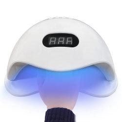 Professional 72W LED Nagellack Trockner abnehmbare Fach 2 Hände Nail Art Lampe