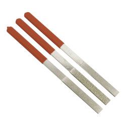 ملفات Flat ذات الماسات المسطحة مع 40 إلى 600 grit 6 القطع