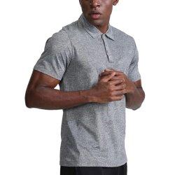 Мужчин летом короткий рукав поло T рубашки чистый цвет повседневная блуза Топс для любителей гольфа, настольный теннис бадминтон быстрой сушки одежды спортивной одежды