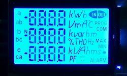 Monostelliges transflektives TFT-LCD-Panel mit positivem Pluspol