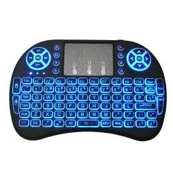 I8 Backlit Tastatur-mini drahtlose Tastatur-Laptop-Computer für PC-androiden Fernsehapparat-Kasten-Tastatur-Hersteller