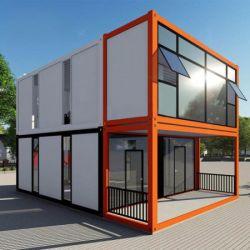 مصنع رخيصة الأسعار بناء سهل حاوية منزل 2 3 قصة فالفلبين مفبركة