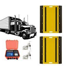 トラック、移動式重量ブリッジ、移動式アクスル重量計用電子ポータブル重量計