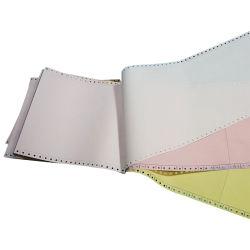 3ply Amarillo/Blanco/Rosa de papel autocopiativo Papel ordenador