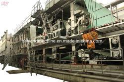 Preços de máquina de reciclagem de papel usado de 3600 mm e Kraft de Carton marrom Linha de produção de máquinas para produção de produtos de papel