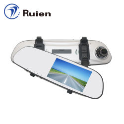 La esperanza de la venta de 5 pulgadas de pantalla táctil de 2 MP Espejo retrovisor del coche Dashcam DVR cámara WDR