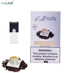 Der ECig Vape Feder-1.0ml Flüssigkeit Cappuccinovaporizer-der Hülse-E