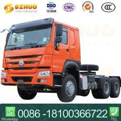 De gebruikte Vrachtwagen van de Tractor van het Paard 10xtyres van de Tractor van de Aanhangwagen van de Vrachtwagen van 371HP 6X4 Sinotruk HOWO Op zwaar werk berekende Hoofd Hoofd voor Tanzania/D.R. de Kongo/Angola/Ethiopië/Mozambique