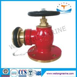Hidrantes de incêndio de latão Machino marinho JIS-9911 BA